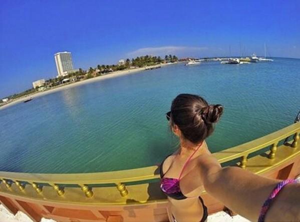 selfie pier ocean gopromun gopro