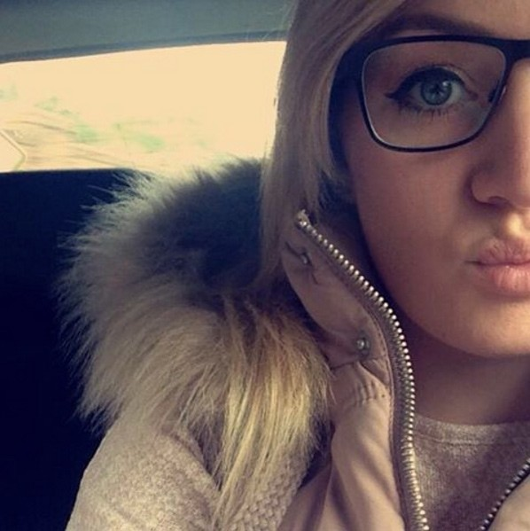 blonde in glasses littlebott