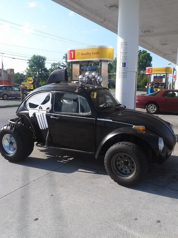 punisher vw bug