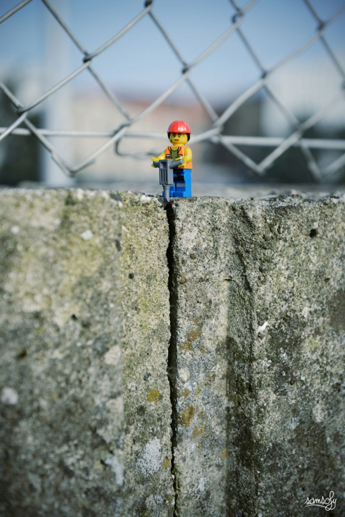 construction worker lego