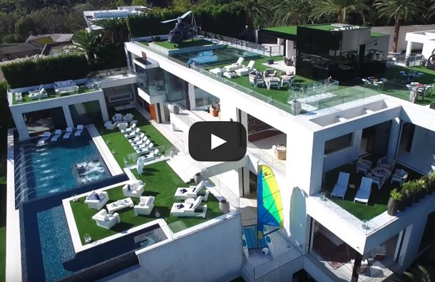 Take A Peak Inside And Around A 250 Million Dollar Mansion