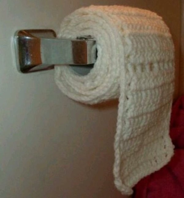cotton toilet paper